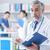 medycznych · rekordy · stetoskop · gotowy · pacjenta · badanie - zdjęcia stock © stokkete
