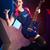若い女の子 · ギタリスト · 歌 · 演奏 · エレキギター - ストックフォト © stokkete