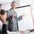 apresentação · maduro · empresário · reunião · executivo · indicação - foto stock © stokkete
