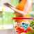 食品 · アプリ · ストア · 女性 · タブレット · 食料品 - ストックフォト © stokkete
