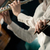 violinists performing hands close up stock photo © stokkete