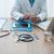 arts · smartphone · app · ziekenhuis · kantoor - stockfoto © stokkete
