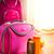 verão · férias · rosa · caso · óculos · de · sol - foto stock © stokkete