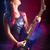jovem · adolescente · estrela · etapa · estrela · do · rock · cantando - foto stock © stokkete