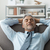 businessman resting on the sofa stock photo © stokkete