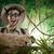 bem · sucedido · aventureiro · selva · pioneiro · direito - foto stock © stokkete