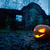 Halloween pumpkin with ancient gate stock photo © stokkete