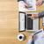 werkruimte · computer · desktop · digitale · gegenereerde · alle - stockfoto © stokkete