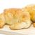 fresco · croissant · branco · ouro · café · da · manhã · isolado - foto stock © stoonn