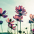 pink cosmos flower vintage stye stock photo © stoonn