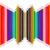 színes · ceruzák · szivárvány · égbolt · nap · festék - stock fotó © stoonn