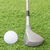 golf ball and golf club on green grass stock photo © stoonn