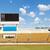 estádio · scoreboard · laranja · relógio · acima - foto stock © stoonn