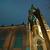 Norvégia · éjszaka · kép · templom · város · égbolt - stock fotó © Stootsy