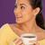 美人 · 飲料 · 茶 · カップ · コーヒー · 見える - ストックフォト © stryjek