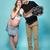 happy couple on blue stock photo © stryjek