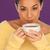 女性 · 冷却 · ダウン · コーヒー · 美しい · ブルネット - ストックフォト © stryjek