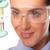 atraente · feminino · test · tube · lab · mulher - foto stock © stryjek
