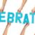 celebration lettering on white stock photo © stryjek