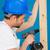 stolarz · wiercenie · otwór · pracy · drewna - zdjęcia stock © stryjek
