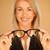 vrouw · uit · bril · bril · donkere - stockfoto © stryjek