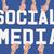 közösségi · média · szöveg · kék · nyíl · repülés · zöld - stock fotó © stryjek