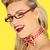 bella · occhiali · modello - foto d'archivio © stryjek