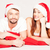 happy young couple on a christmas mood stock photo © stryjek