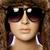 próbababa · visel · divat · napszemüveg · nő · lány - stock fotó © stryjek