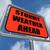 кризис · риск · впереди · дорожный · знак · Стрелки · небе - Сток-фото © stuartmiles