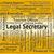 legal secretary indicates clerical assistant and da stock photo © stuartmiles