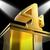 golden four on pedestal means movie awards or prizes stock photo © stuartmiles