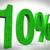 10 · por · cento · redução · preço - foto stock © stuartmiles