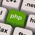 Php Programming Key Shows Internet Development Language stock photo © stuartmiles