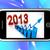 2013 · estadística · futuro · pronóstico - foto stock © stuartmiles