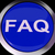 faq button shows frequently asked question stock photo © stuartmiles