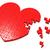 cuore · puzzle · romance · affetto · matrimonio - foto d'archivio © stuartmiles