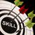 Skill On Dartboard Shows Gained Skills stock photo © stuartmiles