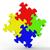 головоломки · квадратный · Союза · единения - Сток-фото © stuartmiles
