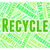 recycle word shows eco friendly and recycled stock photo © stuartmiles