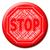 adósság · figyelmeztetés · illusztrált · piros · veszély · figyelmeztető · jel - stock fotó © stuartmiles