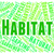 habitat word indicates habitats surroundings and property stock photo © stuartmiles