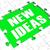 new ideas puzzle showing innovation stock photo © stuartmiles