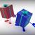 présente · montrent · cadeaux · anniversaire · Noël - photo stock © stuartmiles