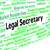 legal secretary represents clerical assistant and pa stock photo © stuartmiles