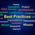 best practices brainstorm shows optimum business procedures stock photo © stuartmiles