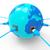 всемирная · паутина · земле · синий · серый · мира · дизайна - Сток-фото © stuartmiles