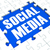Social Media Puzzle Shows Online Communities stock photo © stuartmiles