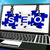 SEO Puzzle On Laptop Shows Online Searching stock photo © stuartmiles