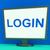 log in screen shows website internet login security stock photo © stuartmiles